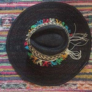Free People Fiesta Straw Hat OS